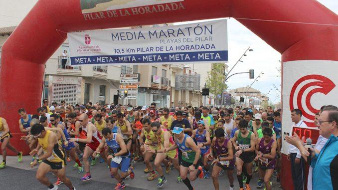 Media Maraton 2015 Pilar de la Horadada