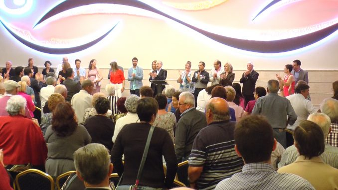 candidatura PSOE Presentacion 2015