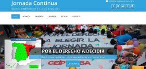 Ampas Torrevieja se manifiesta a favor de la Jornada Continua