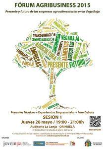 El 'Fórum Agribusiness 2015' analizará el presente y el futuro de las empresas agroalimentarias en la Vega Baja