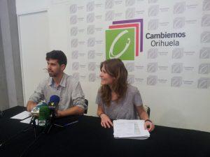 """Cambiemos Orihuela propone un modelo urbano """"sostenible y participativo"""""""