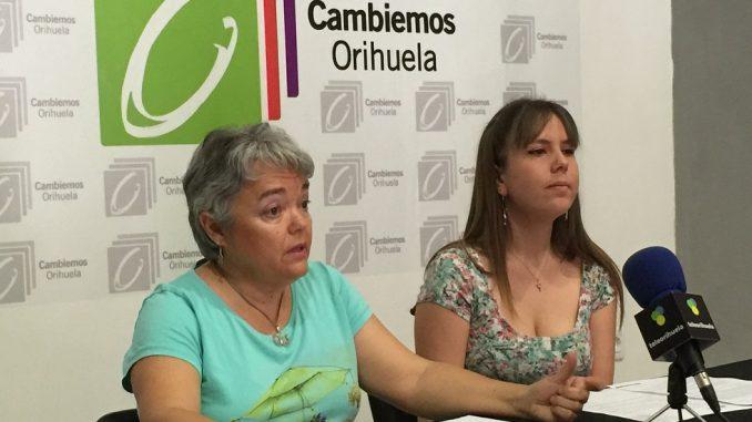 Pascuala Sandoval y Miriam Cuartero