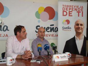 Sueña Torrevieja descarta apoyar al PP