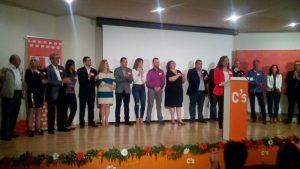 """Quiles aboga por la """"lucha contra el paro y la corrupción"""" en la presentación de su candidatura"""