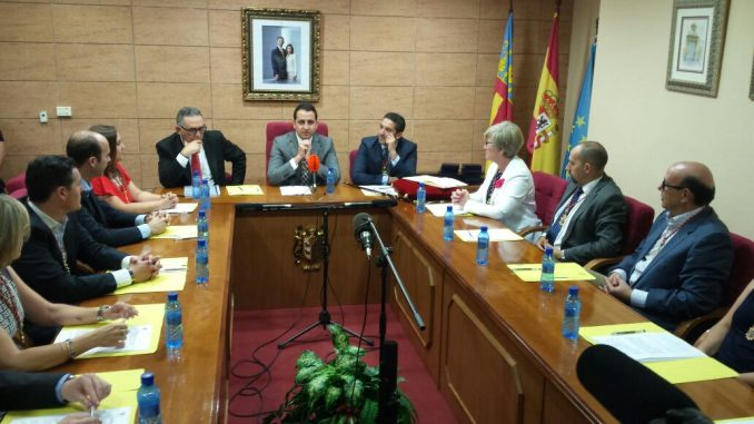 Pleno investidura Catral