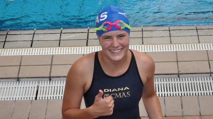Pati nadadora club IMAS Torrevieja