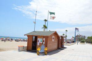 La Cruz Roja comenzará el servicio  vigilancia y rescate en  playas el sábado 20 de junio