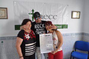 'Rock Against Cancer' recauda 3.700 euros para AECC