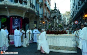 La procesión del Corpus recupera la esencia de su recorrido histórico