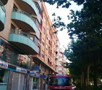 desprendimiento avenida Teodomiro 2