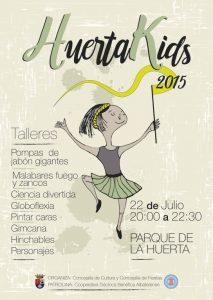HuertaKids 2015: Un festival infantil para los más pequeños en Albatera