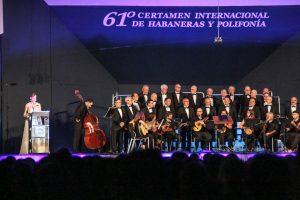 Los solistas abren el Certamen de Habaneras