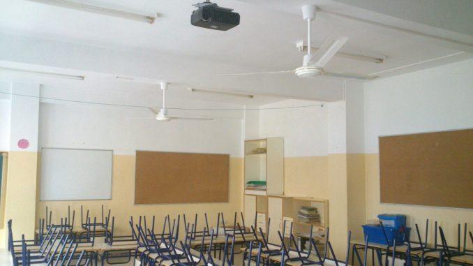 Ventiladores CEIP Algorfa 13ago15