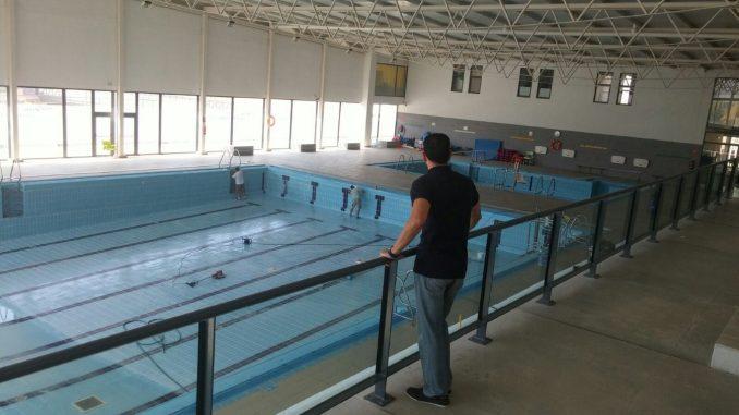 Trabajos piscina cubierta