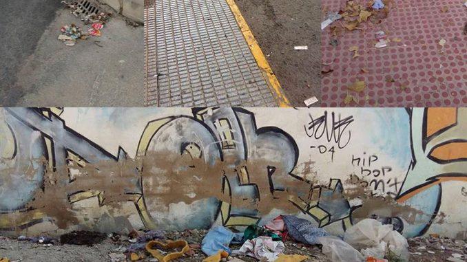 Suciedad calles 14ago15