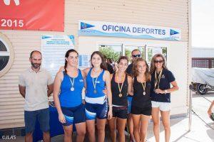 Oro y bronce para Torrevieja en el Campeonato Autonómico de Remo de Mar