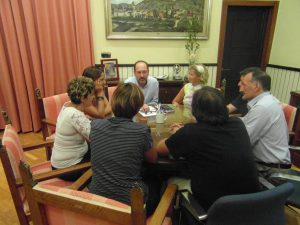 Bascuñana se reúne con Dinoco para valorar las posibilidades del servicio de Atención Temprana