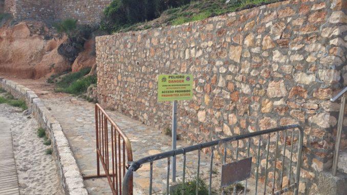 Desprendimientos Cabo Roig