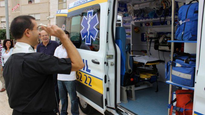 Ambulancia bendición
