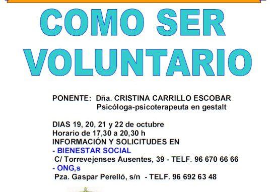 curso voluntario