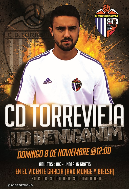 Cartel promocional Torrevieja - Beniganim