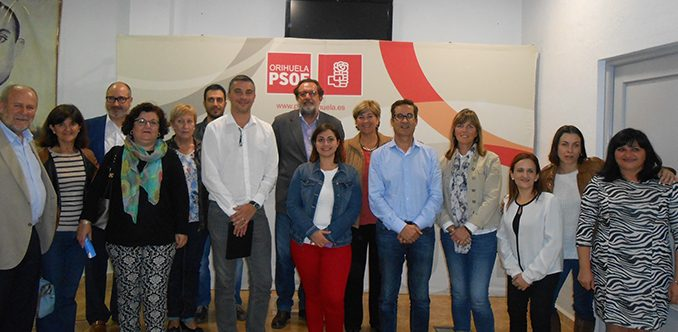PSOE con Vega Baja Acoge