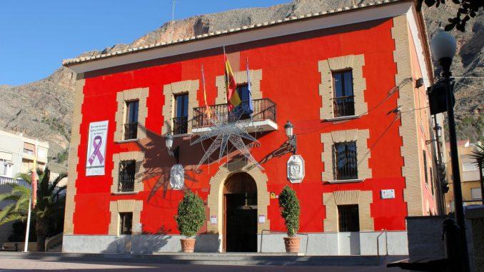 Ayuntamiento naranja 25N