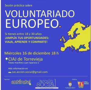 Charla informativa sobre el voluntariado europeo