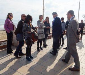 """Salvador: """"El Plan del Litoral permitirá mejorar la conexión de la zona dunar de Guardamar del Segura con la infraestructura verde"""""""