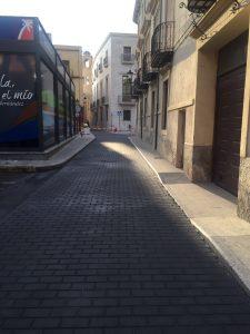 Finaliza la primera fase de las obras en el entorno de la Plaza Santa Lucía