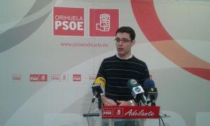 El PSOE pide explicaciones a Almagro por quitar las subvenciones a las asociaciones de Orihuela