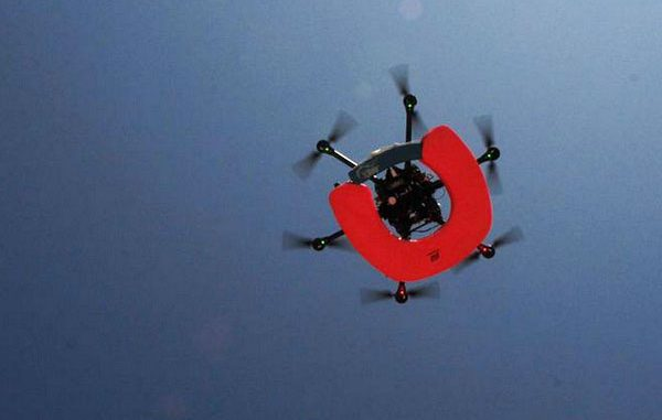 Imagen de muestra de Dron Salvavidas
