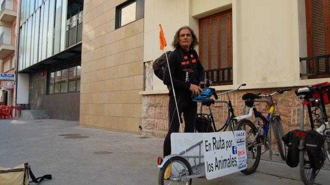 Ruta ciclista por los animales