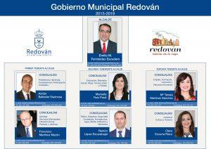 Redován ofrece un servicio para contactar por whatsapp, correo y móvil con los concejales del gobierno municipal