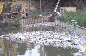El Ayuntamiento de Guardamar limpia los residuos del antiguo cauce del Segura