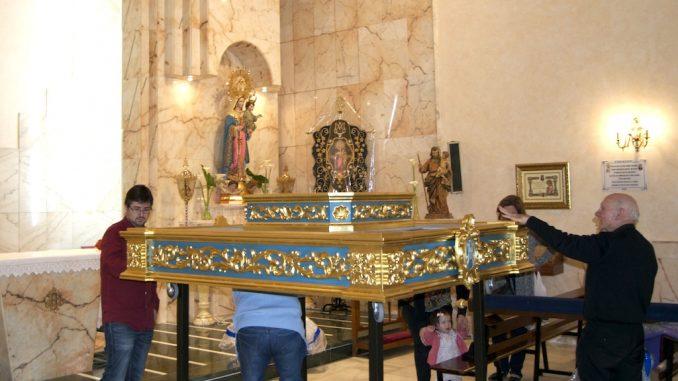 andas virgen del rosario albatera
