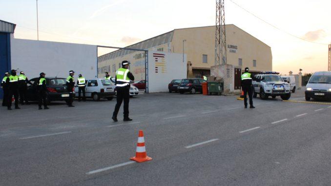 Policia vigilancia control PH