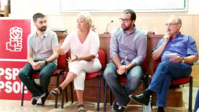 Moreno y Ferrándiz PSOE mayo 2016
