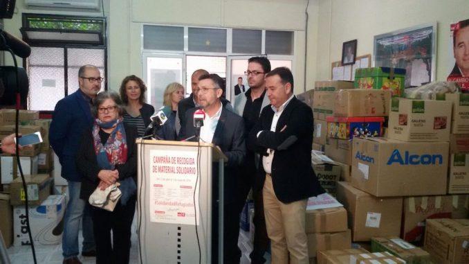 PSOE Recogida productos