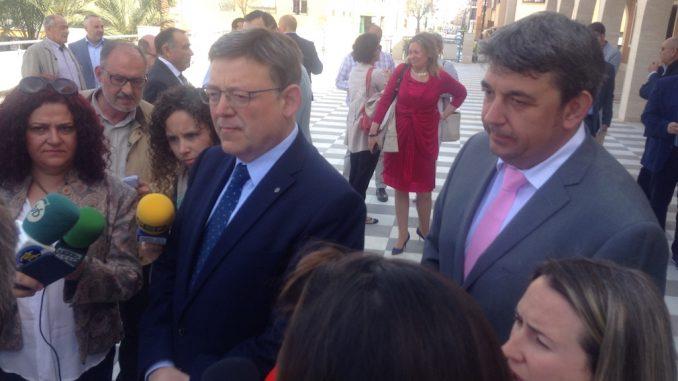 Ximo Puig visita Guardamar mayo 2016