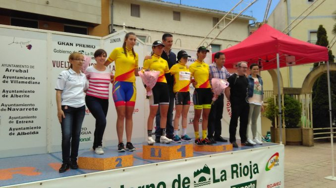 podium melisa La Rioja Junio 2016