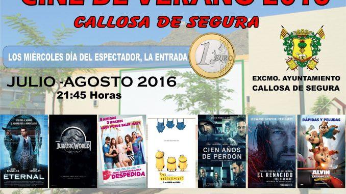 CINE DE VERANO 2016 callosa