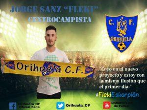 El Orihuela CF renueva a Fleki