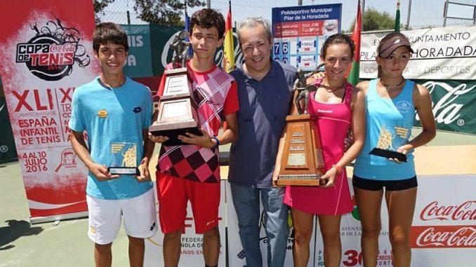 Ganadores y finalistas individuales Trofeo Cocacola