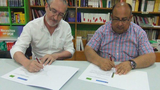 firma convenio recicla y codex
