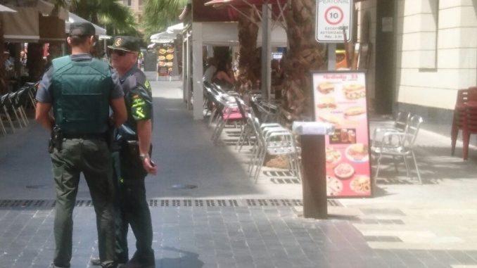 Paquete sospechoso Torrevieja 15 7 16