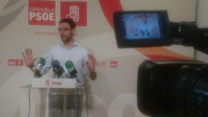 El PSOE solicitará la celebración de un pleno extraordinario de Les Corts en Orihuela
