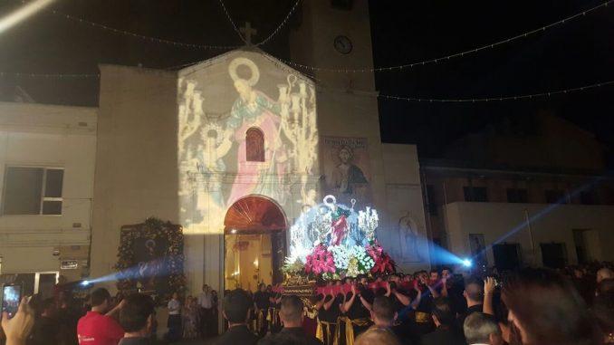 San Joaquín Bigastro procesión 2016