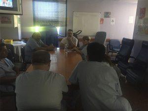 Los pacientes de salud mental del Hospital Vega Baja participan en talleres lúdicos semanales