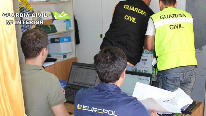 europol coches robados